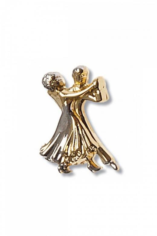 Diamant Dancing Couple Brooch