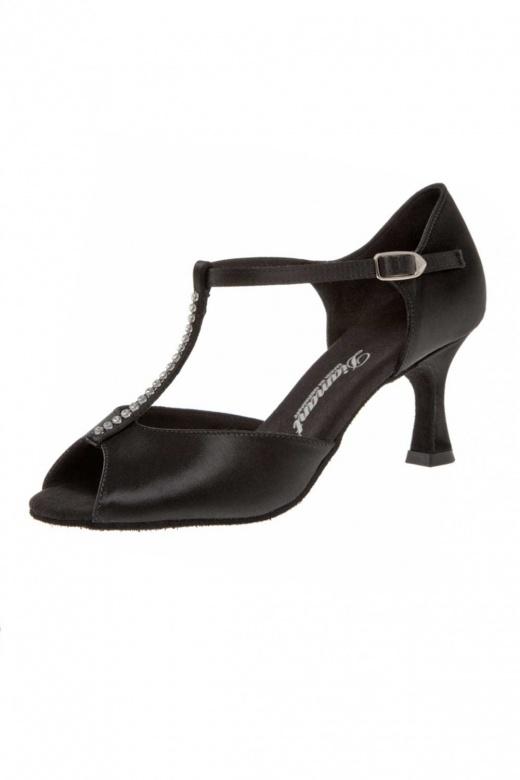 Diamant Ladies' T Bar Shoes with Rhinestones