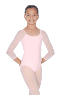 Bloch Diamond Heart Bow Back Leotard
