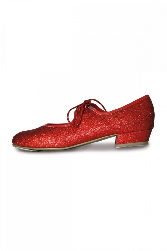 Dorothy Red Glitter Tap Shoes