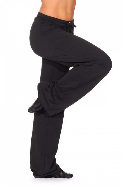 Papillon Drawstring Wide Leg Dance Pants