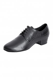James Men's Leather Ballroom Shoes