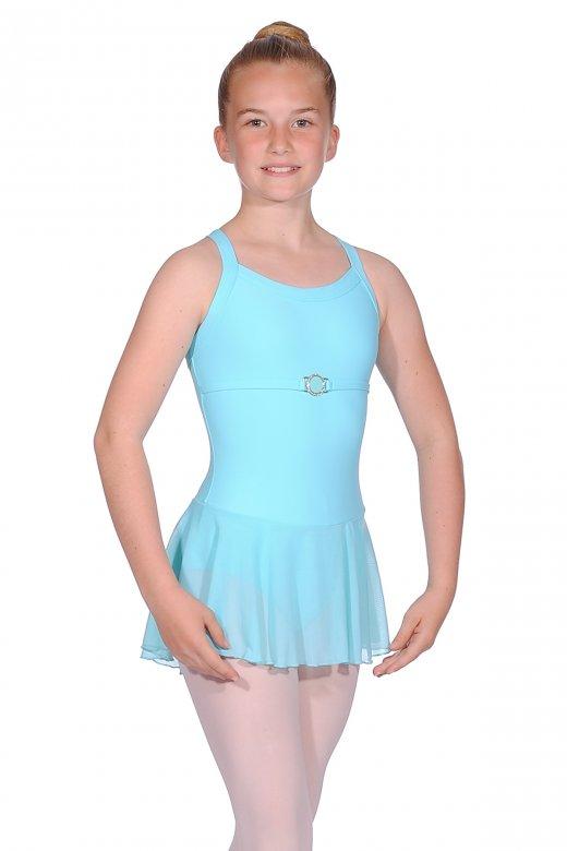 Ballet Rosa Flavie Sleeveless Girls' Leotard with Tulle Skirt