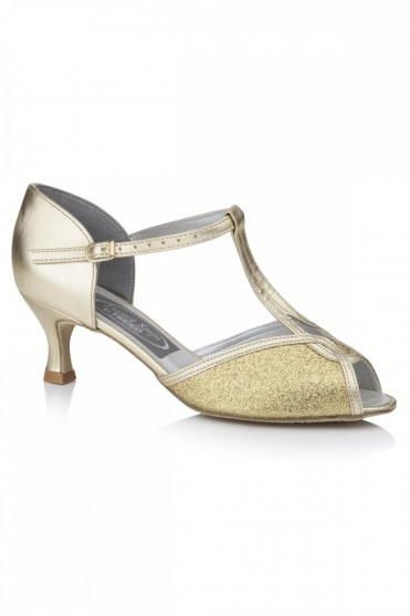 Citrine Ladies Ballroom Shoes