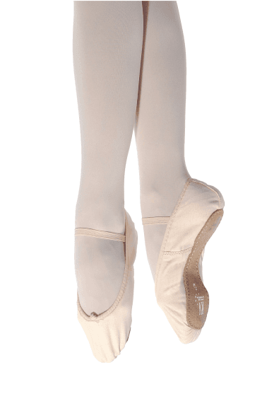 Full Sole Canvas Ballet Shoes - Regular Fit