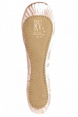 Roch Valley Full Sole Satin Ballet Shoes - Wide Fit