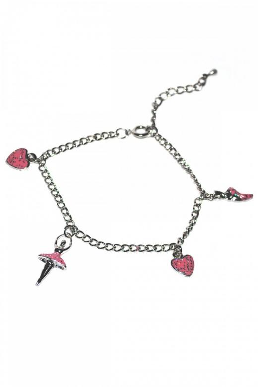 Gifted Dancer Silver Bracelet