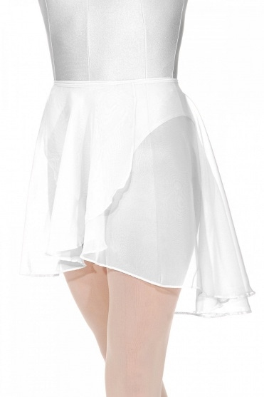 Gina Adult's Wrapover Georgette Skirt
