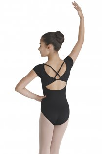 Girls' Cap Sleeve Leotard