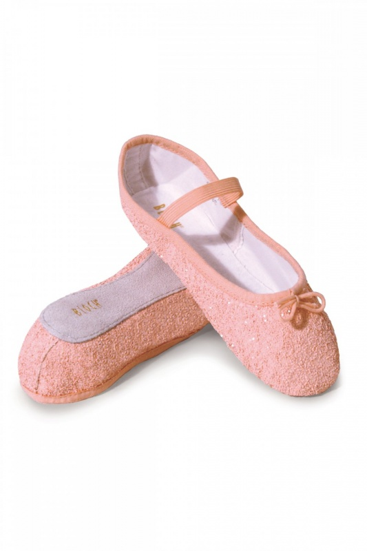 921bdfd090703 Bloch Girls' Glitter Ballet Shoes