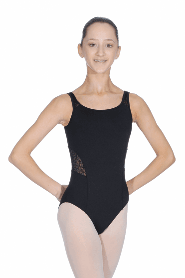 Girls' Mesh Tank Leotard