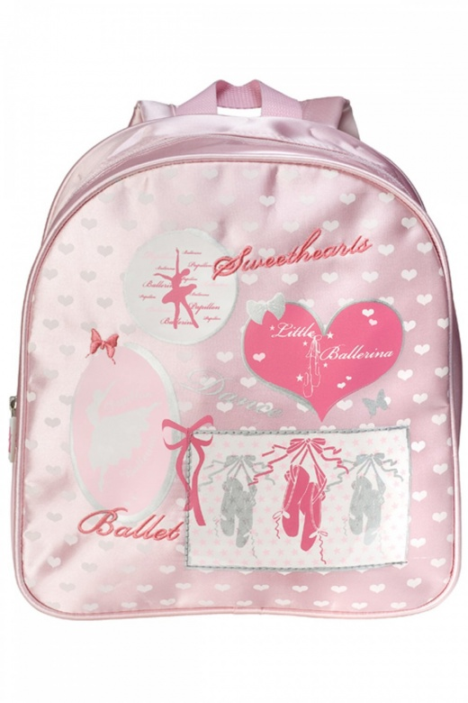 Papillon Girls' Pink Back Pack