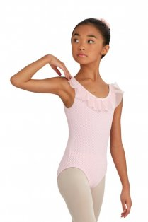 Girls' Ruffle Tank Leotard