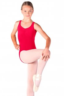 Girls' Sleeveless Leotard