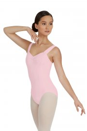 Girls' Tactel Wide Strap Leotard