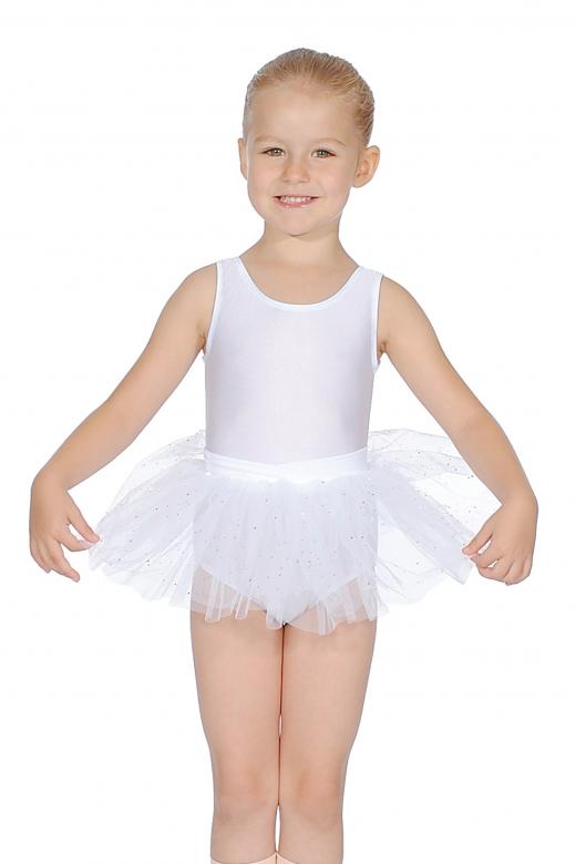 Capezio Girls' Tutu Skirt with Bow Back