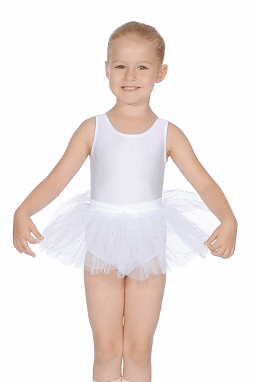 Girls' Tutu Skirt with Bow Back