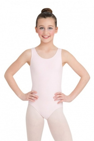 High Scoop Neck Leotard
