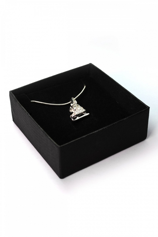 Gifted Dancer Ice Skate Pendant