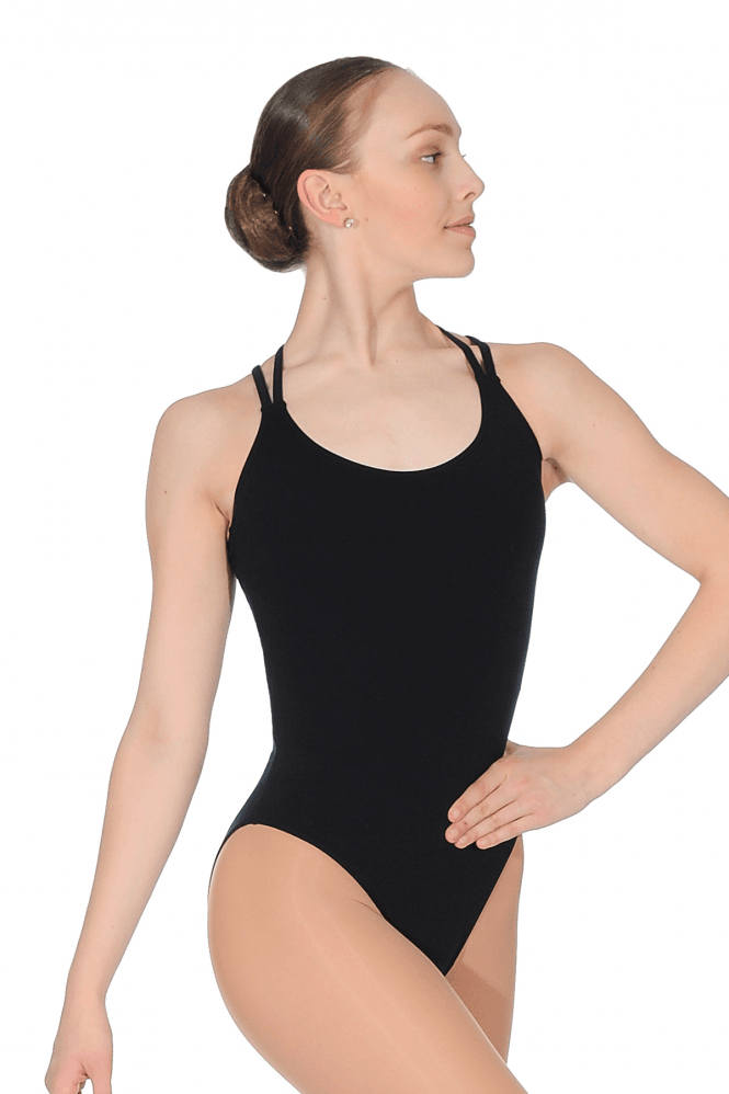 Intermezzo Double Strap Cross-over back leotard