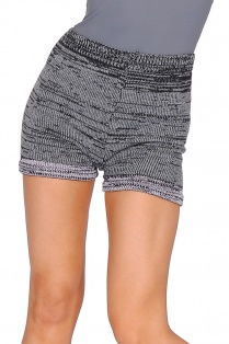 Knit Stripe Shorts