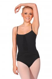 Jiri Camisole Ladies' Leotard with Cross Back