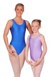 Joanne Sleeveless Nylon/Lycra Leotard