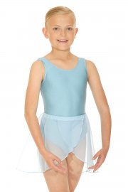 June Sleeveless Nylon/Lycra Exam Leotard with Belt
