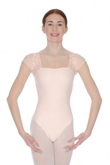 Justine short sleeved leotard