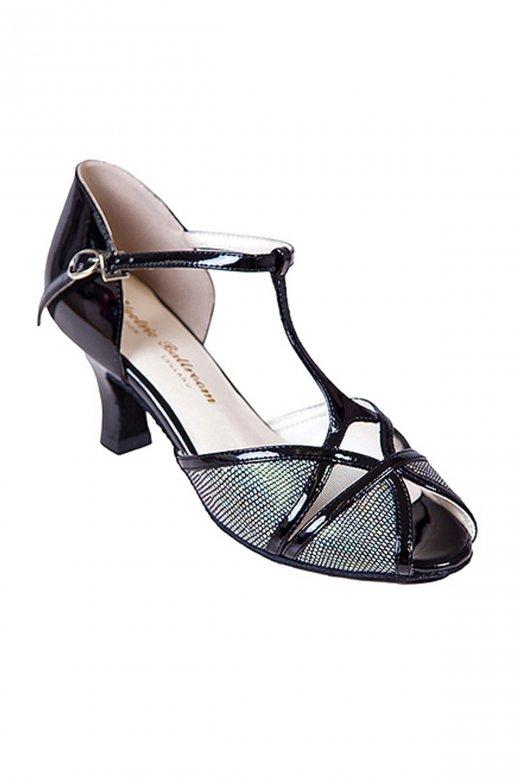 Electric Ballroom Karen Social Peep Toe Shoes