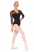 Bloch Kate Lace Sleeve Leotard