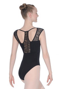 Lace Back Detail Leotard