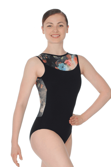 Lachelle Open Back Tank Leotard