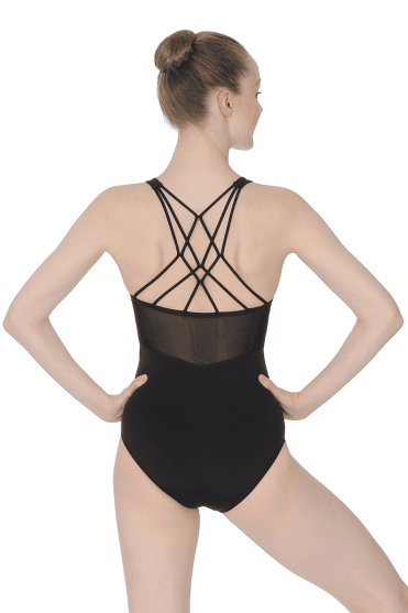 Ladies' Camisole Leotard With Geometric Strap Back Capezio