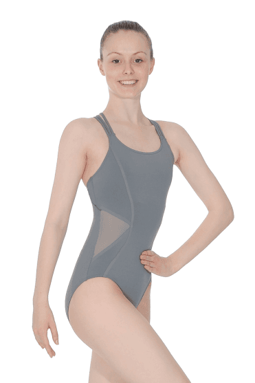 Ladies' Camisole Leotard With Mesh Panels Capezio