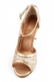 Port Dance Ladies' Glittery Tango Shoes