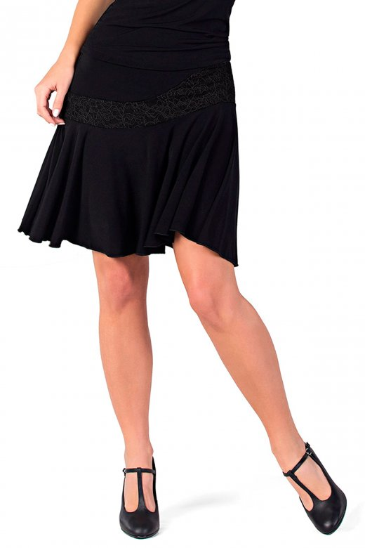 So Danca Ladies' Lace Ballroom Skirt