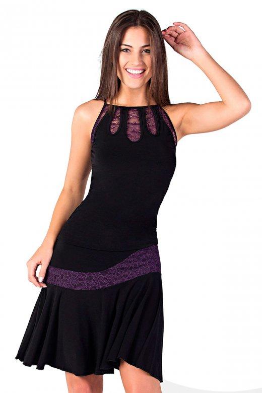 So Danca Ladies' Lace Ballroom Top