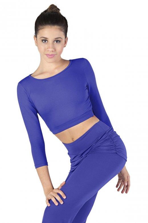 So Danca Ladies' Long Sleeve Crop Top