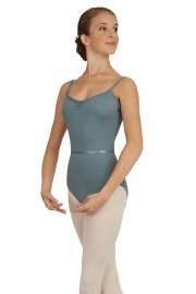 Ladies' Pinch-Front Camisole Leotard
