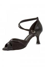 Ladies' Python Print Latin Sandals
