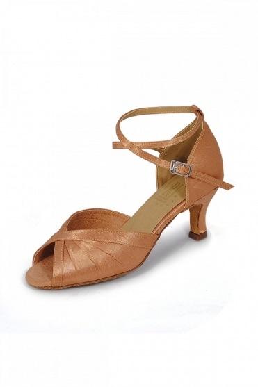 Ladies Satin Latin Sandal