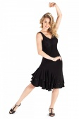 So Danca Ladies' Striped Back Ballroom Dress