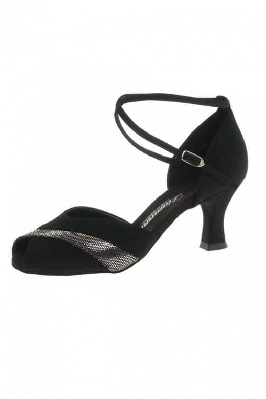 Diamant Ladies' Suede Peep Toe Latin Shoes