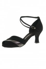 Ladies' Suede Peep Toe Latin Shoes