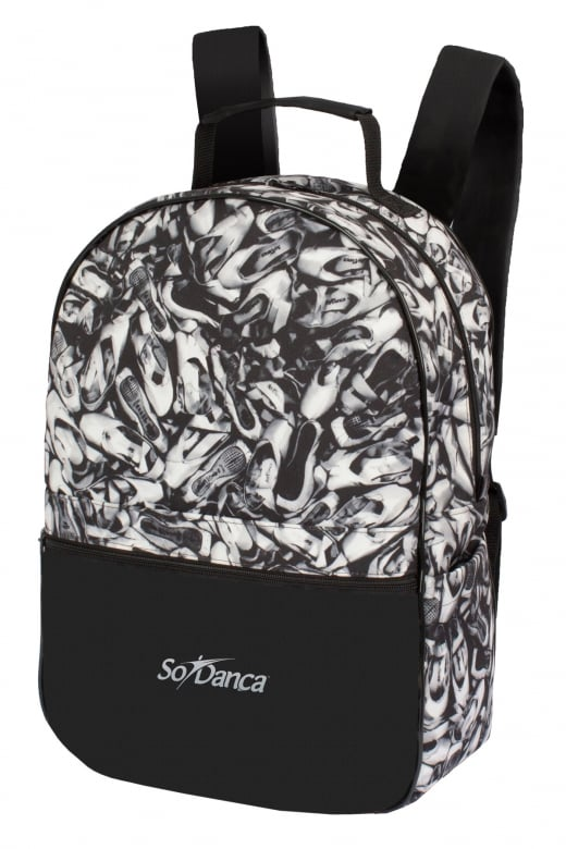So Danca Large Canvas Backpack