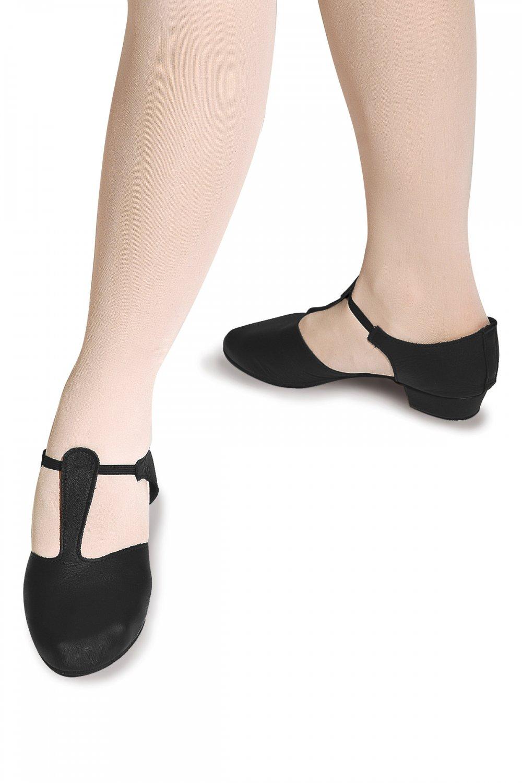 Roch Valley Black Hologram Greek Sandals