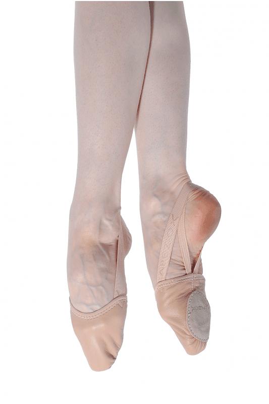 Capezio Leather Pirouette II Ballet