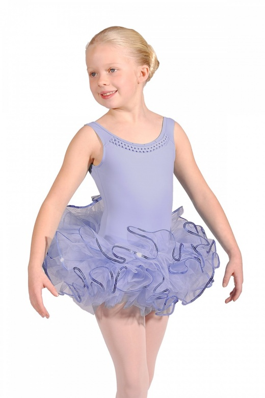 Leo Children's Sequin Trim Bando Tutu Skirt