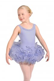 Children's Sequin Trim Bando Tutu Skirt